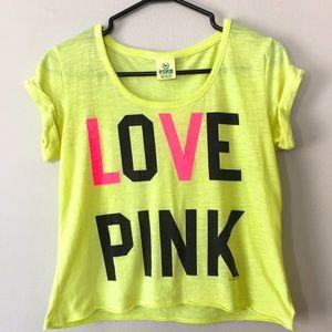 Pink by Victoria's Secret T-shirt Women's Size XS